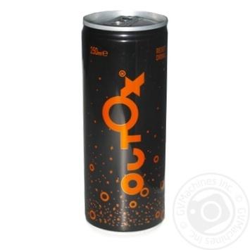 Напій Outox натуральний безалкогольний газований 0,25л