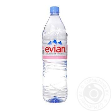 Вода минеральная Evian негазированная 1,5л - купить, цены на Восторг - фото 1