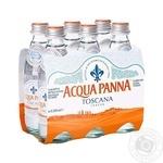 Вода Аква Панна негазированная стеклянная бутылка 250мл