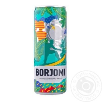 Вода Borjomi минеральная газированная ж/б 0,33л