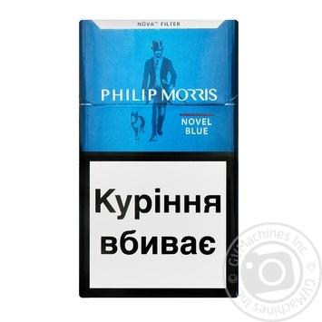 Сигареты Philip Morris Novel Blue - купить, цены на Фуршет - фото 2
