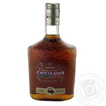 Напій алкогольний Шустов Шоколат'є Шоколад та Вишня 30% 0,5л - купити, ціни на Novus - фото 2