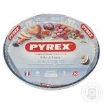 Pyrex Flan Round Glass Baking Dish 30cm