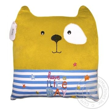 Tigres Have a Nice Day Cat Pillow