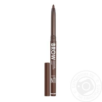 Олівець для брів LN Professional механічний 304 0,3г - купити, ціни на МегаМаркет - фото 1