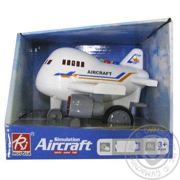 Rj Plane Toy - buy, prices for Auchan - photo 1