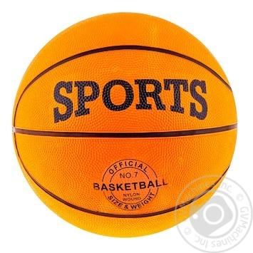 Мяч баскетбольный Spokey 82388 резиновый №7
