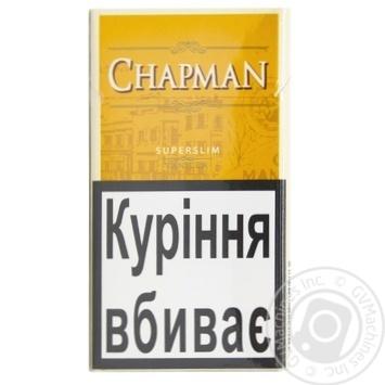 Chapman сигареты где купить в курске филипп моррис купить сигареты оптом от производителя