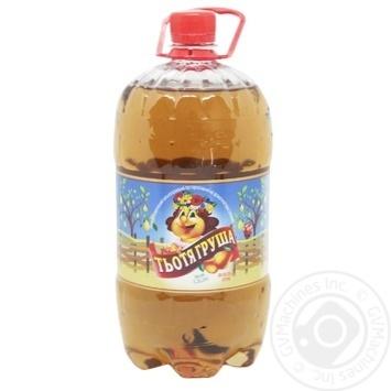 Напиток сильногазированный Полтавпиво Тетя Груша 1,5л