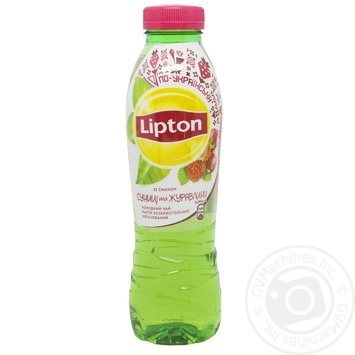 Чай холодный Lipton Земляника и клюква 0,5л - купить, цены на Novus - фото 1