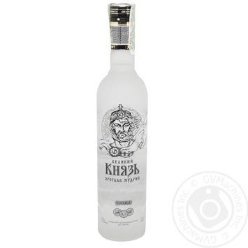 Горілка Великий Князь Ярослав Мудрий 40% 0,7л
