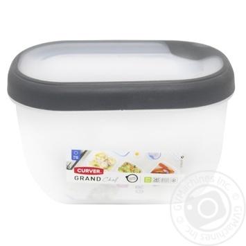 Ємкість Curver Grand Chef для заморожування та мікрохвильовок прямокутна 0,75л в асортименті - купити, ціни на МегаМаркет - фото 1