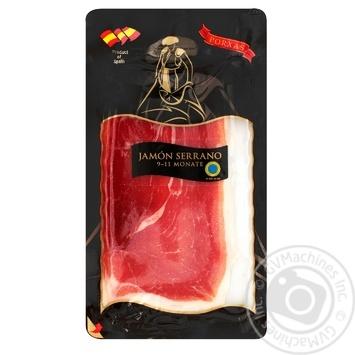 Porxas Jamon Serrano jerky sliced Spain 50g
