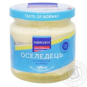 Norven Herring in Mustard Sauce 190g - buy, prices for Tavria V - image 1