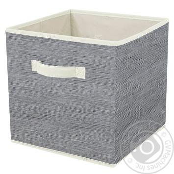 Короб Handy Home складаний 30х30х30см - купити, ціни на МегаМаркет - фото 1