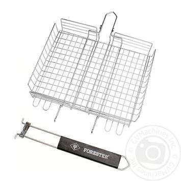 Решітка-гриль Forester зі знімною ручкою 24X30см - купити, ціни на МегаМаркет - фото 1