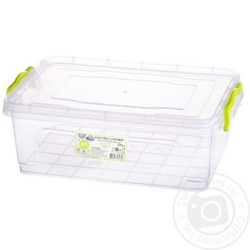 Al-Plastic Elit №4 Food container flat 4l