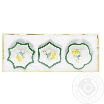 Lefard Lemon Set of Salad Bowls 8cm 3pcs