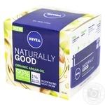 Крем Nivea Naturally Good для всех типов кожи лица 50мл