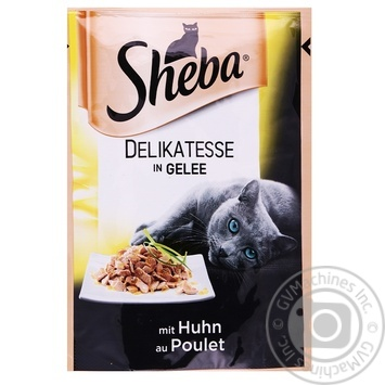 Sheba Delikatesse In Jelly With Chicken Cats Food 85g - buy, prices for Furshet - image 1