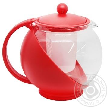 Чайник заварочний Banquet Bulbus 1,25л в асортименті - купити, ціни на МегаМаркет - фото 1