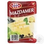 Сир Млековіта Маздамер нарізаний 45% 150г - купити, ціни на Фуршет - фото 2