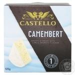 Сыр Castello Камамбер мягкий с белой плесенью 50% 125г