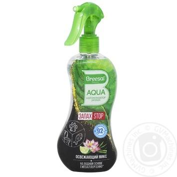 Aqua-нейтралізатор запаху Breesal Aqua Освіжаючий мікс  375мл - купити, ціни на Novus - фото 1