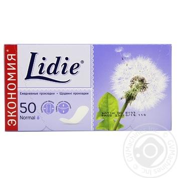 Прокладки щоденні Lidie Normal 50шт - купити, ціни на Novus - фото 1