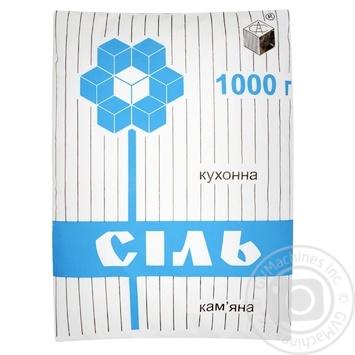 Соль каменная Артемсоль пищевая 1кг - купить, цены на МегаМаркет - фото 1