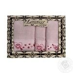 Lorenzzo Amore Terry Towel 3pcs - buy, prices for MegaMarket - image 1