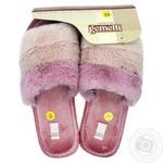 Тапочки Gemelli домашние женские 36-40р в ассортименте