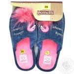 Взуття домашнє жіноче Gemelli Троянди р.36-40 - купить, цены на Novus - фото 2