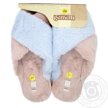 Взуття домашнє жіноче Gemelli Ландора р.36-40 - купить, цены на Novus - фото 4