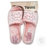 Twins HS Standart Women's Home Shoes Velor s.38-39