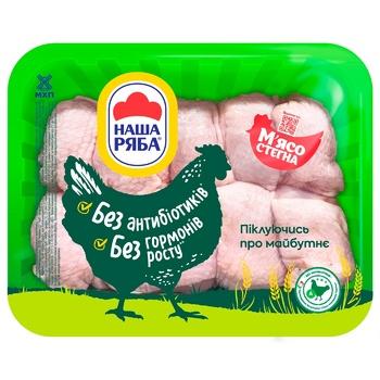Nasha Ryaba chilled сhicken thigh meat (packaging ~1,1 kg)