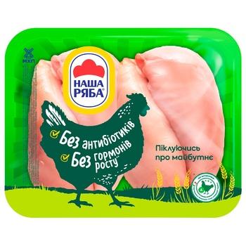 Филе Наша Ряба цыплят бройлера, охлажденное  (упаковка ~1,1кг) - купить, цены на Метро - фото 1