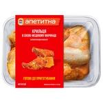 Nasha Ryaba Delicious Chilled Сhicken Wings in Soy-Honey Marinade ~600g