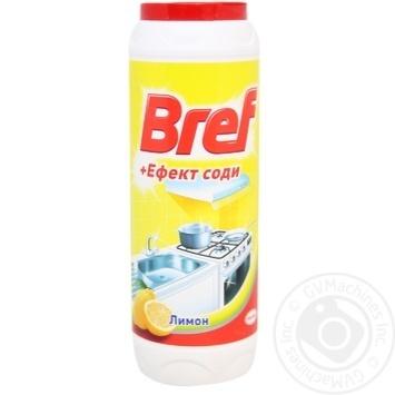Порошок для чистки Bref + Эффект соды Лимон 500г - купить, цены на Novus - фото 1