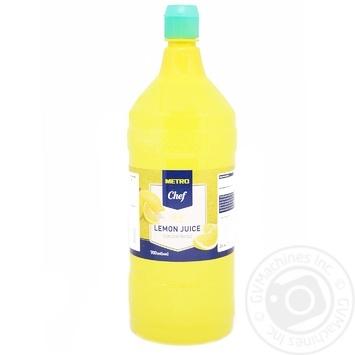 Сок Metro Chef лимонный концентрированный 700мл