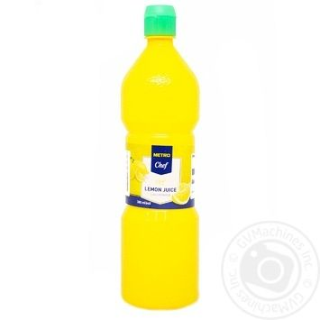 Metro chef lemon concentrate juice 380ml