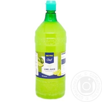 Metro Chef Lime juice concentrated 700ml - buy, prices for Metro - image 1