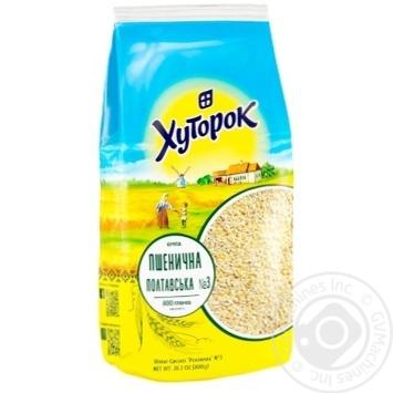 Крупа пшеничная Хуторок 800г - купить, цены на СитиМаркет - фото 2