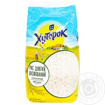 Khutorok long graine rice 800g - buy, prices for Auchan - image 2