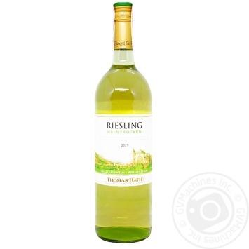 Вино Thomas Rath Рислинг белое полусухое 11% 1л