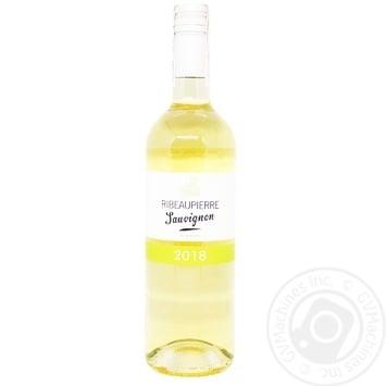 Вино Рібоп'єр Совіньйон натуральне біле сухе 11.5% 0,75л  в асортименті
