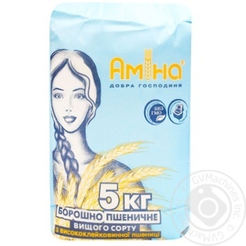 Мука Амина высший сорт 5кг - купить, цены на Метро - фото 1