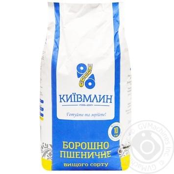 Мука пшеничная Киев Млин в/с 10кг - купить, цены на Метро - фото 1