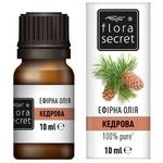 Эфирное масло Flora Secret кедровое 10мл
