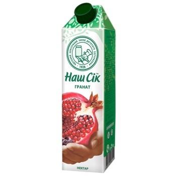 Pomegranate nectar Nash Sok 950ml - buy, prices for CityMarket - photo 1